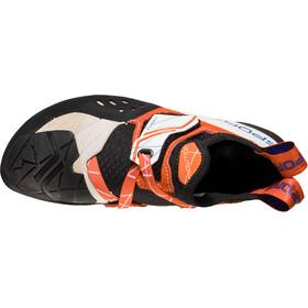 La Sportiva Solution Klatresko Damer, hvid/orange
